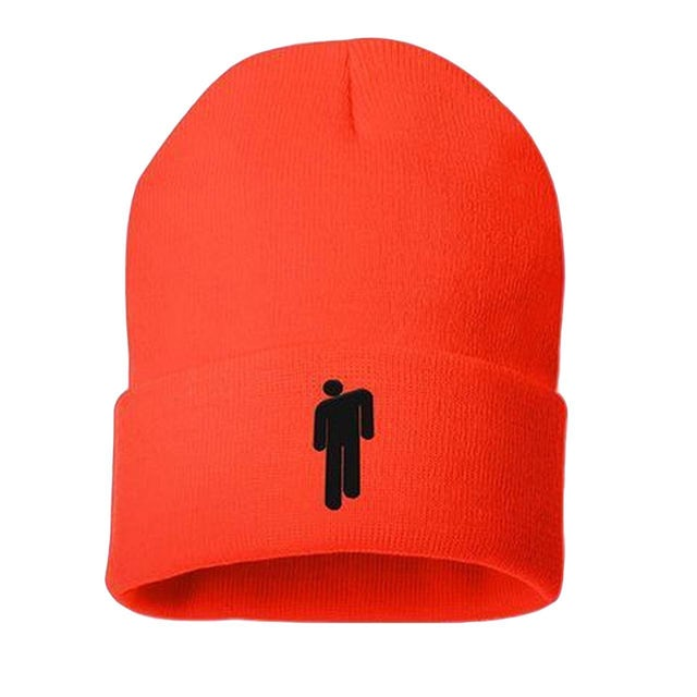 red billie eilish hat