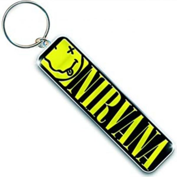 nirvana-keychain