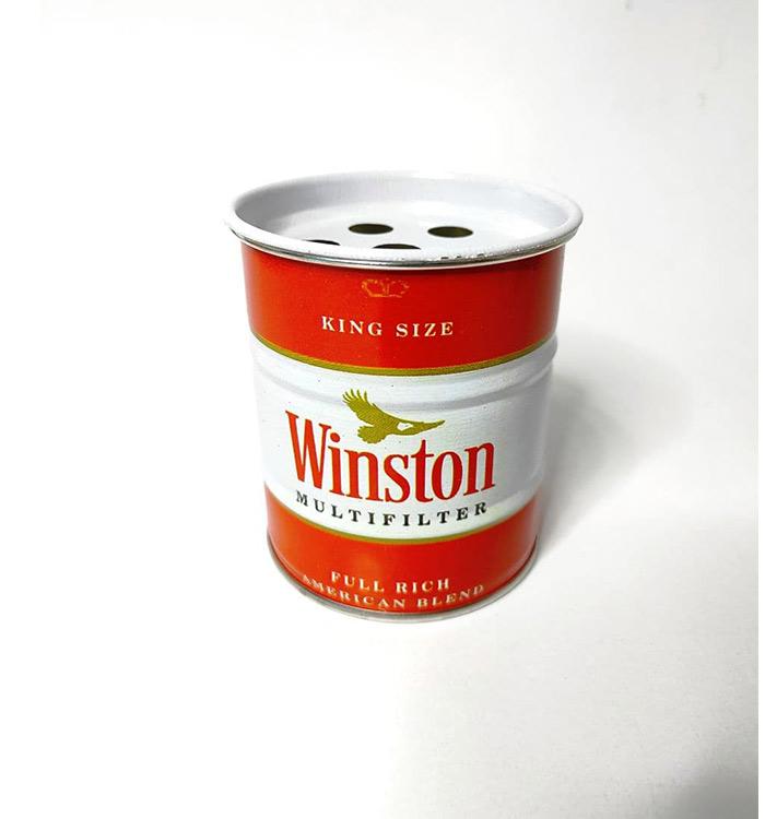 زیرسیگاری طرح وینستون
