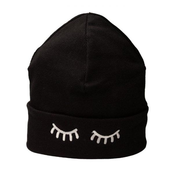 کلاه بافتنی طرح پلک