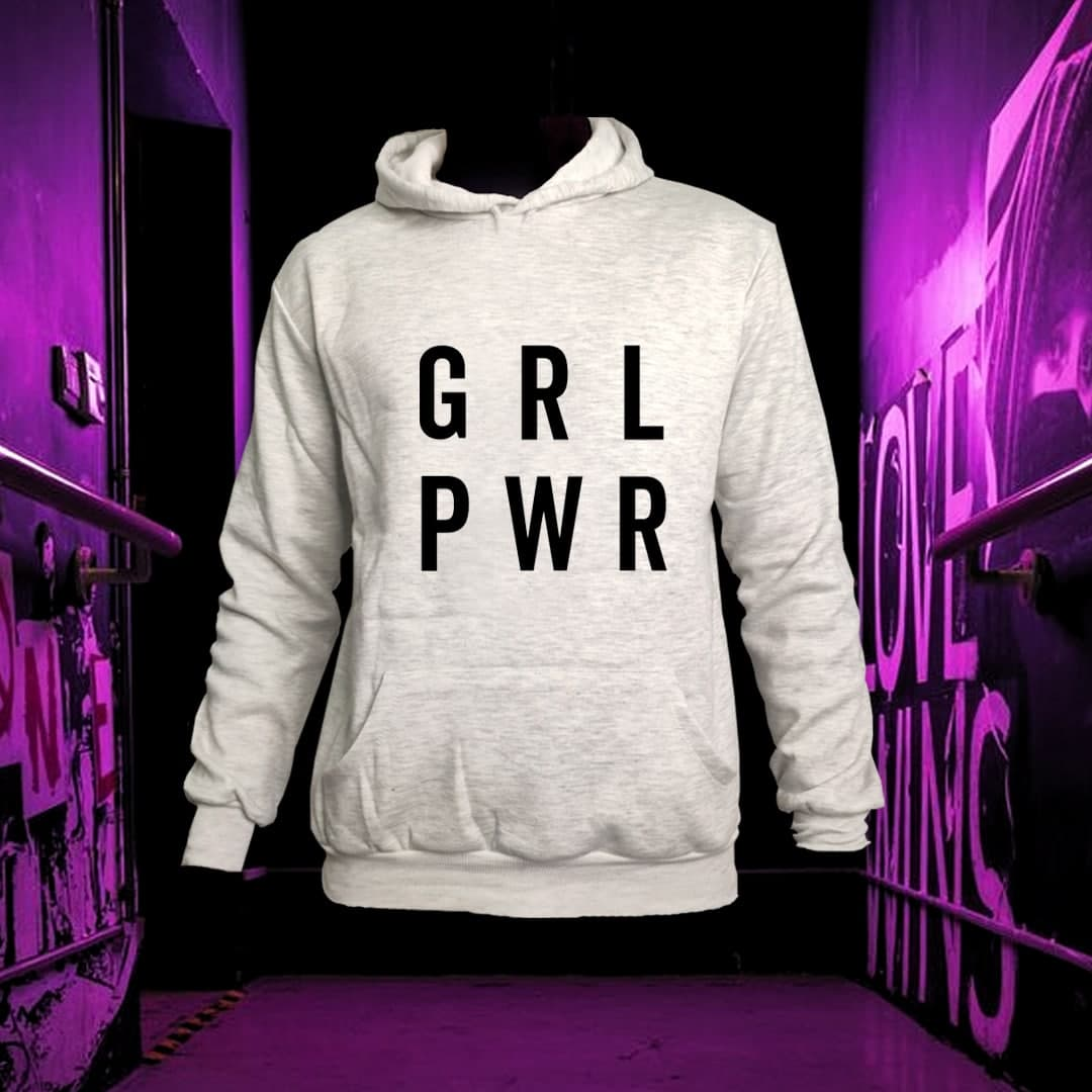 هودی طرح girl power