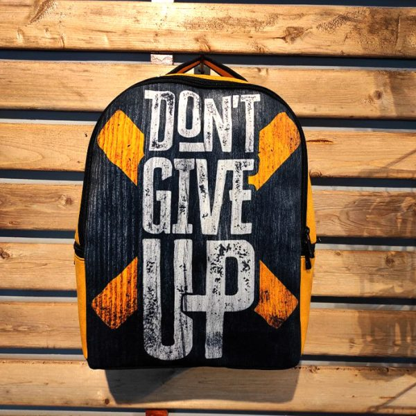 کوله پشتی طرح Dont give up